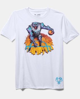 Boys' UA Panther Animal Instinct T-Shirt
