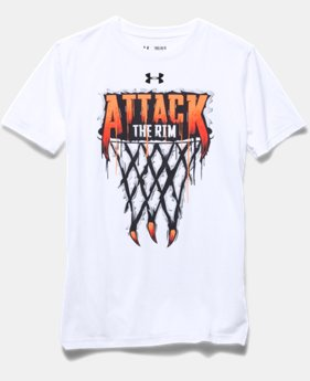 Boys UA Attack The Rim T-Shirt