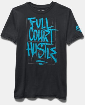 Boys' UA Full Court Hustle T-Shirt