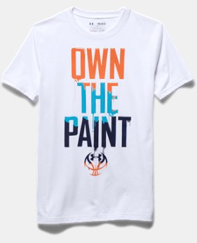 Boys' UA Own The Paint T-Shirt