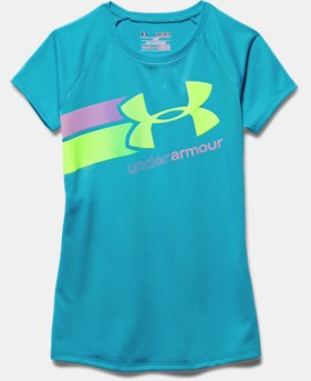 Girls' UA Fast Lane T-Shirt