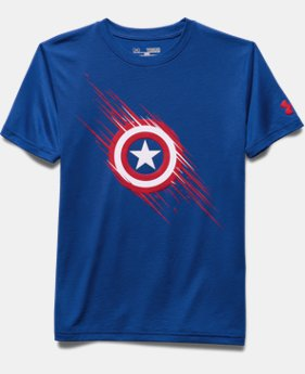 Boys' Under Armour® Alter Ego Captain America Team T-Shirt