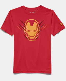 Boys' Under Armour® Alter Ego Iron Man Team T-Shirt
