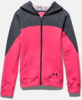 Girls' UA Quick Pass Full Zip Hoodie