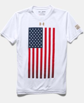 Boys' UA USA Flag T-Shirt