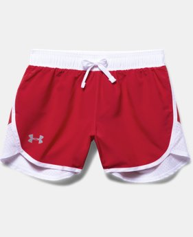 Girls' UA Fast Lane Shorts