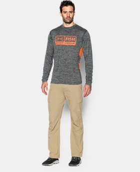Men's UA Fish Hunter Long Sleeve T-Shirt LIMITED TIME: FREE SHIPPING  $39.99