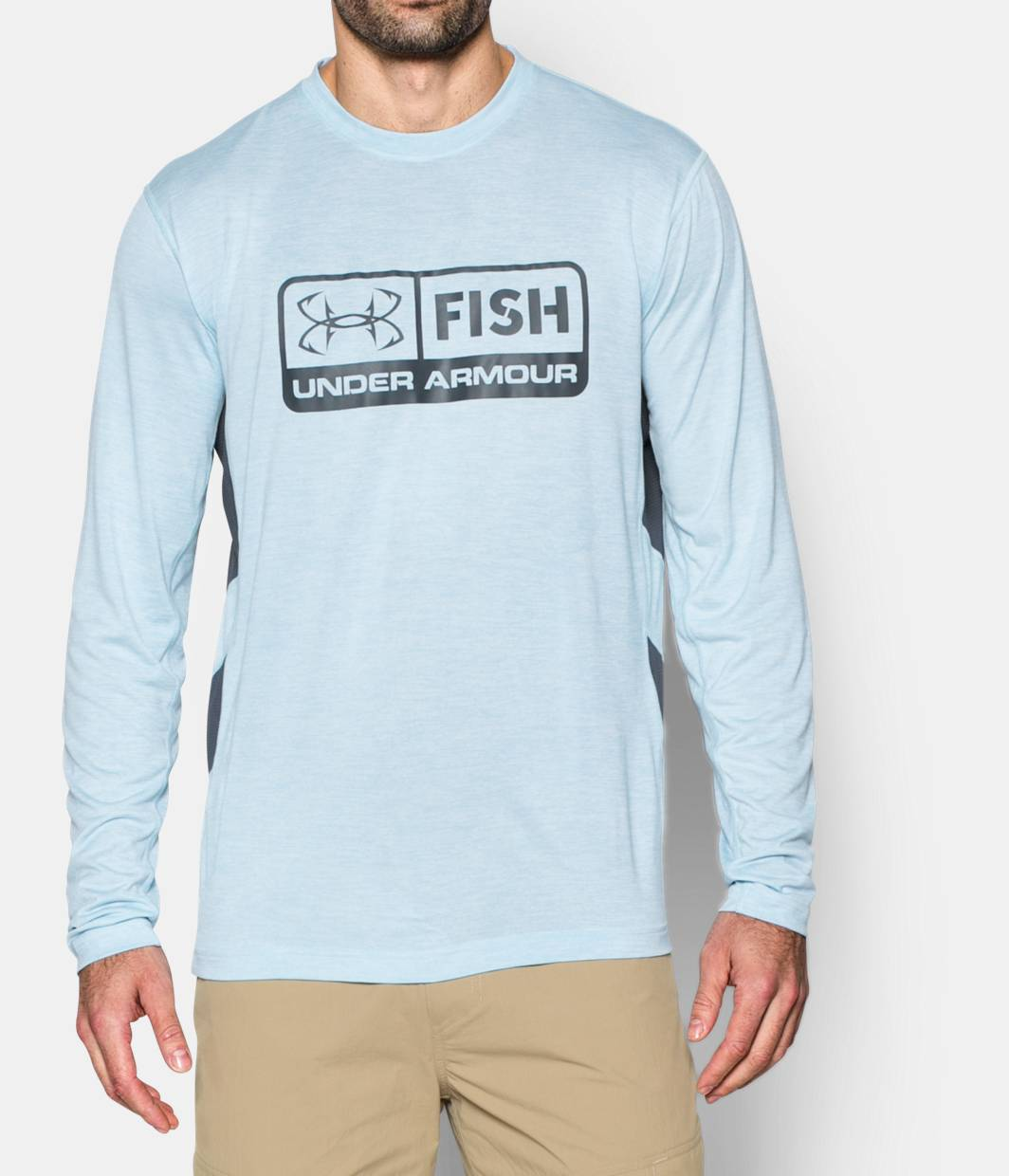 Men s ua fish hunter long sleeve t shirt under armour us for Under armor fishing shirt