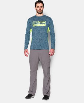 Men's UA Fish Hunter Long Sleeve T-Shirt LIMITED TIME: FREE U.S. SHIPPING  $39.99