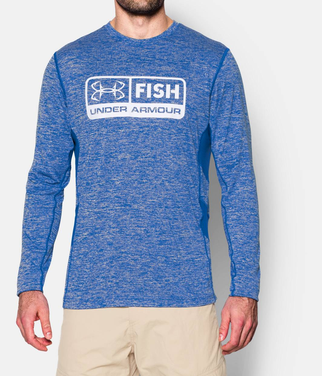 Men s ua fish hunter long sleeve t shirt under armour us for Under armour i will shirt