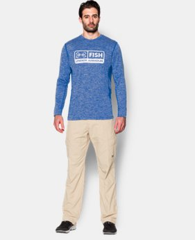 Men's UA Fish Hunter Long Sleeve T-Shirt  1 Color $39.99