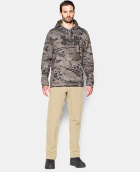 New to Outlet Men's UA Storm Camo Big Logo Hoodie  3 Colors $42.74