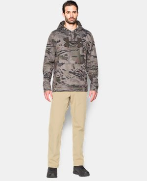Men's UA Storm Camo Big Logo Hoodie  4 Colors $47.99 to $63.99