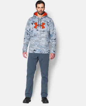 Men's UA Storm Camo Big Logo Hoodie LIMITED TIME: FREE SHIPPING 4 Colors $47.99 to $63.99