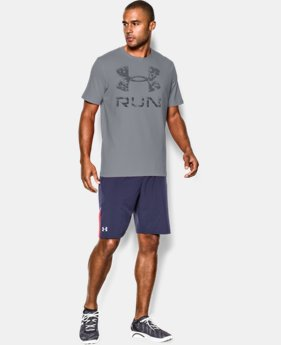 Men's UA Run Big Logo T-Shirt LIMITED TIME: FREE U.S. SHIPPING  $14.99 to $18.99