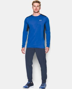 New Arrival Men's UA CoolSwitch Run Long Sleeve  1 Color $49.99