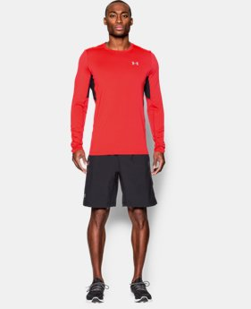 Men's UA CoolSwitch Run Long Sleeve  1 Color $33.74