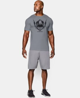 Men's UA Football Helmet T-Shirt LIMITED TIME: FREE U.S. SHIPPING 1 Color $18.99