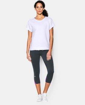 New to Outlet Women's UA Studio Boxy Crew   $31.49 to $39.74