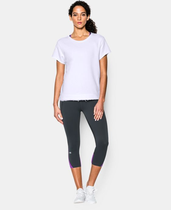 New to Outlet Women's UA Studio Boxy Crew  1 Color $31.49 to $39.74