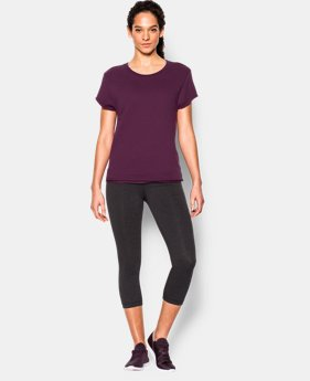 New to Outlet Women's UA Studio Boxy Crew  1 Color $41.99 to $52.99