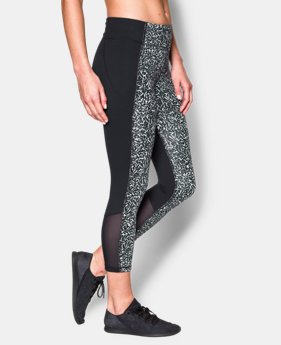New to Outlet Women's UA Mirror Printed Crop  1 Color $52.99