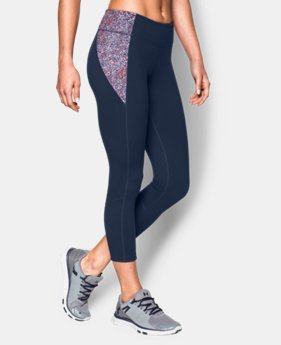New to Outlet Women's UA Mirror Printed Crop  2 Colors $39.74 to $52.99