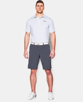 Men's UA coldblack® Address Stripe Polo  1 Color $35.99 to $44.99