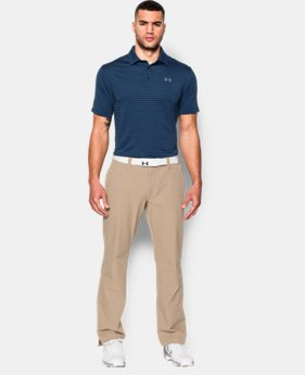 Men's UA coldblack® Address Stripe Polo   $59.99