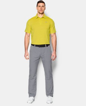 Men's UA coldblack® Address Stripe Polo  1 Color $39.74 to $52.99