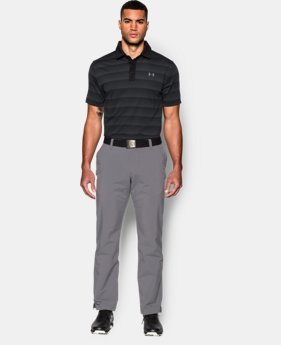 Men's UA coldblack® Chip In Stripe Polo LIMITED TIME: FREE SHIPPING 1 Color $79.99