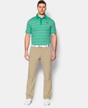 New Arrival  Men's UA coldblack® Chip In Stripe Polo  1 Color $79.99