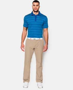 Men's UA coldblack® Chip In Stripe Polo  1 Color $52.99