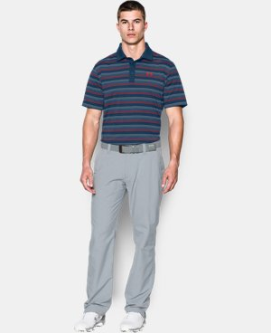 Men's UA coldblack® Ombre Stripe Polo   $44.99