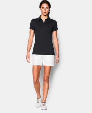 New Arrival  Women's UA Zinger Short Sleeve Polo LIMITED TIME: FREE SHIPPING 1 Color $52.99 to $69.99