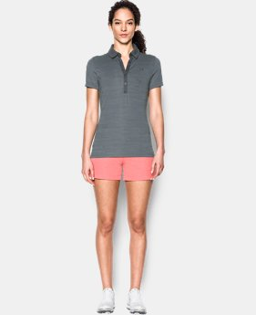 New Arrival Women's UA Zinger Short Sleeve Polo  1 Color $41.99
