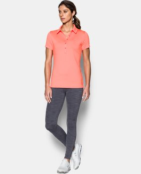 Best Seller Women's UA Zinger Short Sleeve Polo  1 Color $44.99 to $59.99
