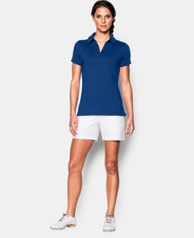 Best Seller Women's UA Zinger Short Sleeve Polo LIMITED TIME: FREE SHIPPING 1 Color $59.99