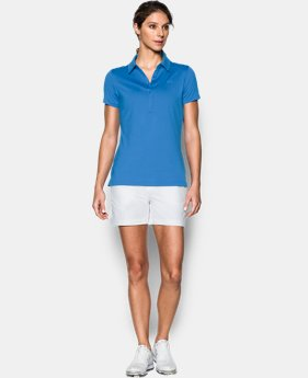 New Arrival Women's UA Zinger Short Sleeve Polo   $41.99