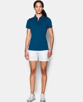 Best Seller Women's UA Zinger Short Sleeve Polo LIMITED TIME: FREE SHIPPING 4 Colors $59.99