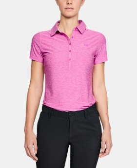 Women's UA Zinger Short Sleeve Polo  5  Colors Available $69.99