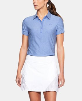 Best Seller Women's UA Zinger Short Sleeve Polo LIMITED TIME: FREE U.S. SHIPPING 4  Colors Available $59.99