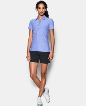 Best Seller Women's UA Zinger Short Sleeve Polo LIMITED TIME: FREE U.S. SHIPPING  $59.99