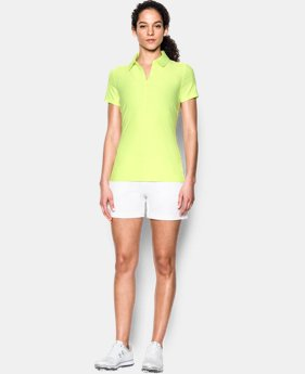 New Arrival Women's UA Zinger Short Sleeve Polo  1 Color $31.49 to $41.99