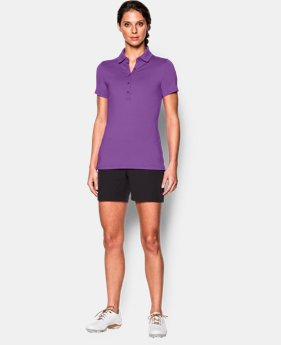 Women's UA Zinger Short Sleeve Polo LIMITED TIME: FREE SHIPPING 2 Colors $69.99