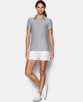 Best Seller Women's UA Zinger Short Sleeve Polo  2  Colors Available $59.99