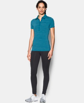 New Arrival Women's UA Zinger Short Sleeve Polo  1 Color $35.99 to $41.99