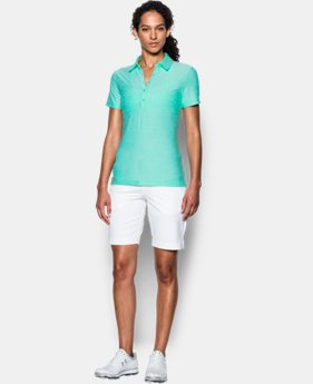 Best Seller Women's UA Zinger Short Sleeve Polo LIMITED TIME: FREE SHIPPING 11 Colors $59.99