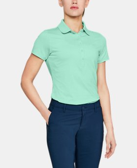 Women's UA Zinger Short Sleeve Polo  1  Color Available $69.99