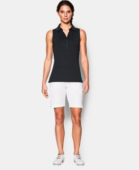 New Arrival  Women's UA Zinger Sleeveless Polo LIMITED TIME: FREE SHIPPING 3 Colors $48.99 to $64.99